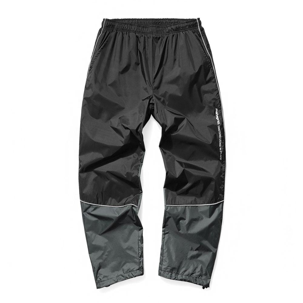 REFLECTIVE TRACK PANTS[BLACK]