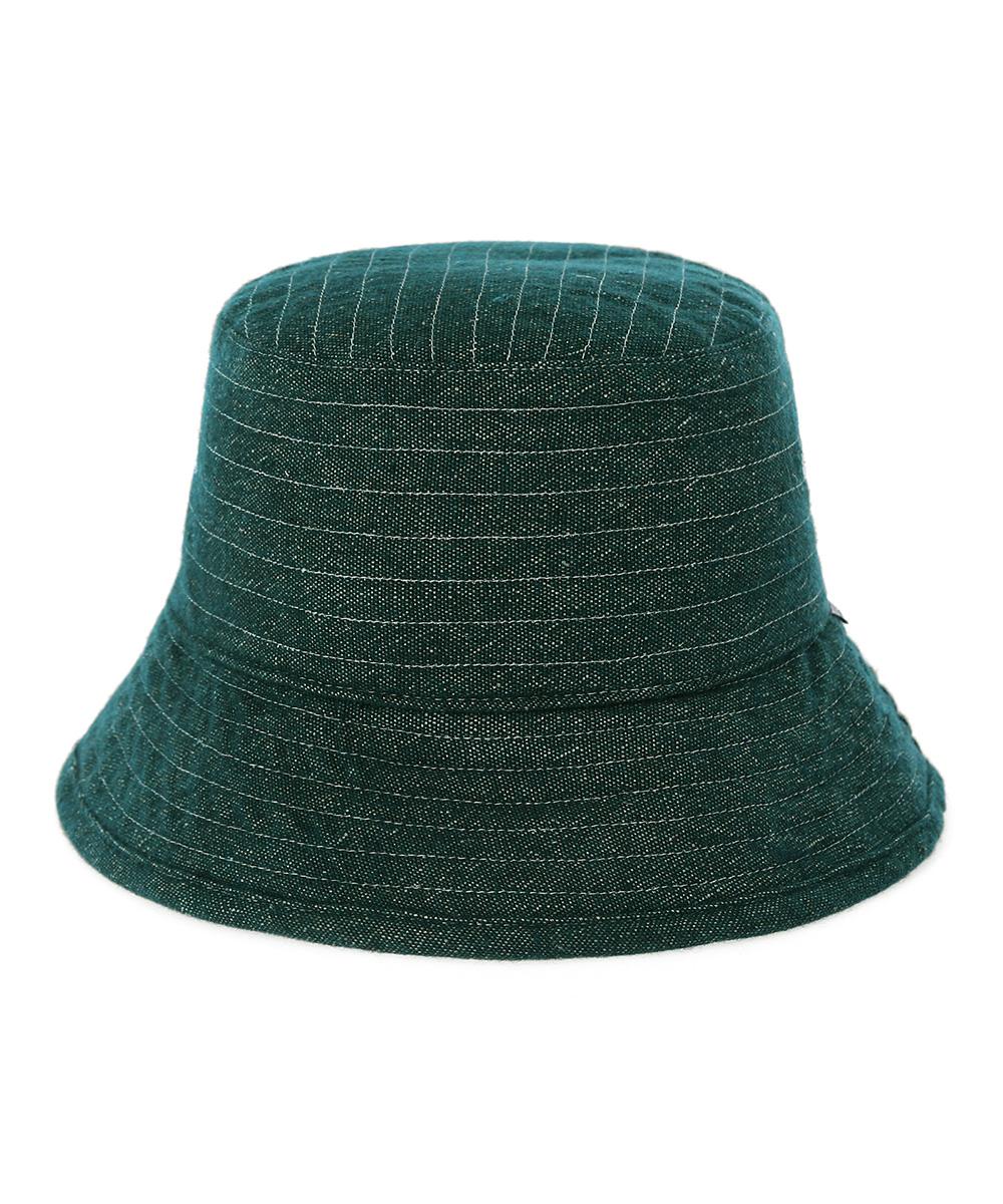 STITCH BUCKET HAT[GREEN]