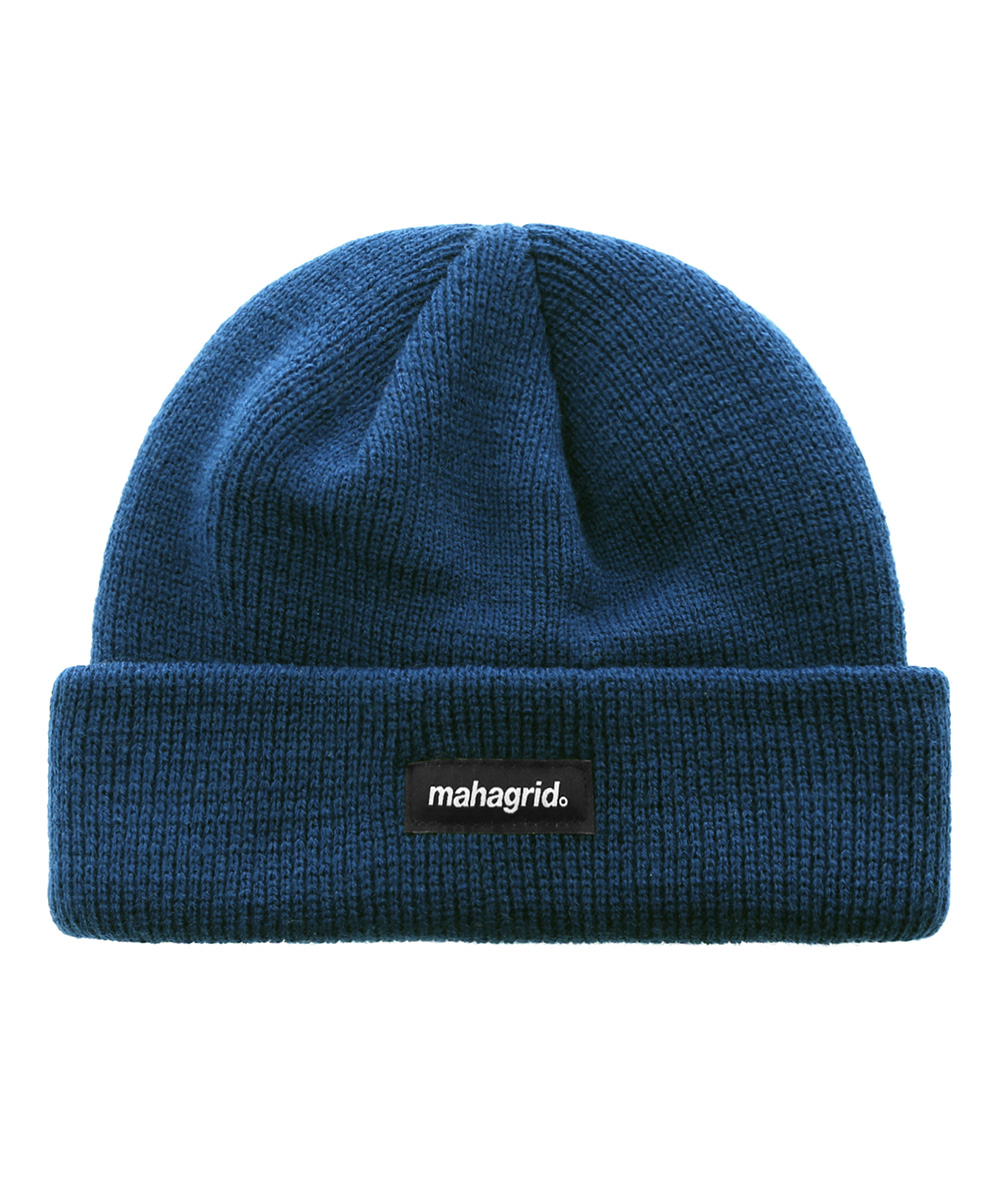 ORIGIN LOGO SHORT BEANIE[BLUE]