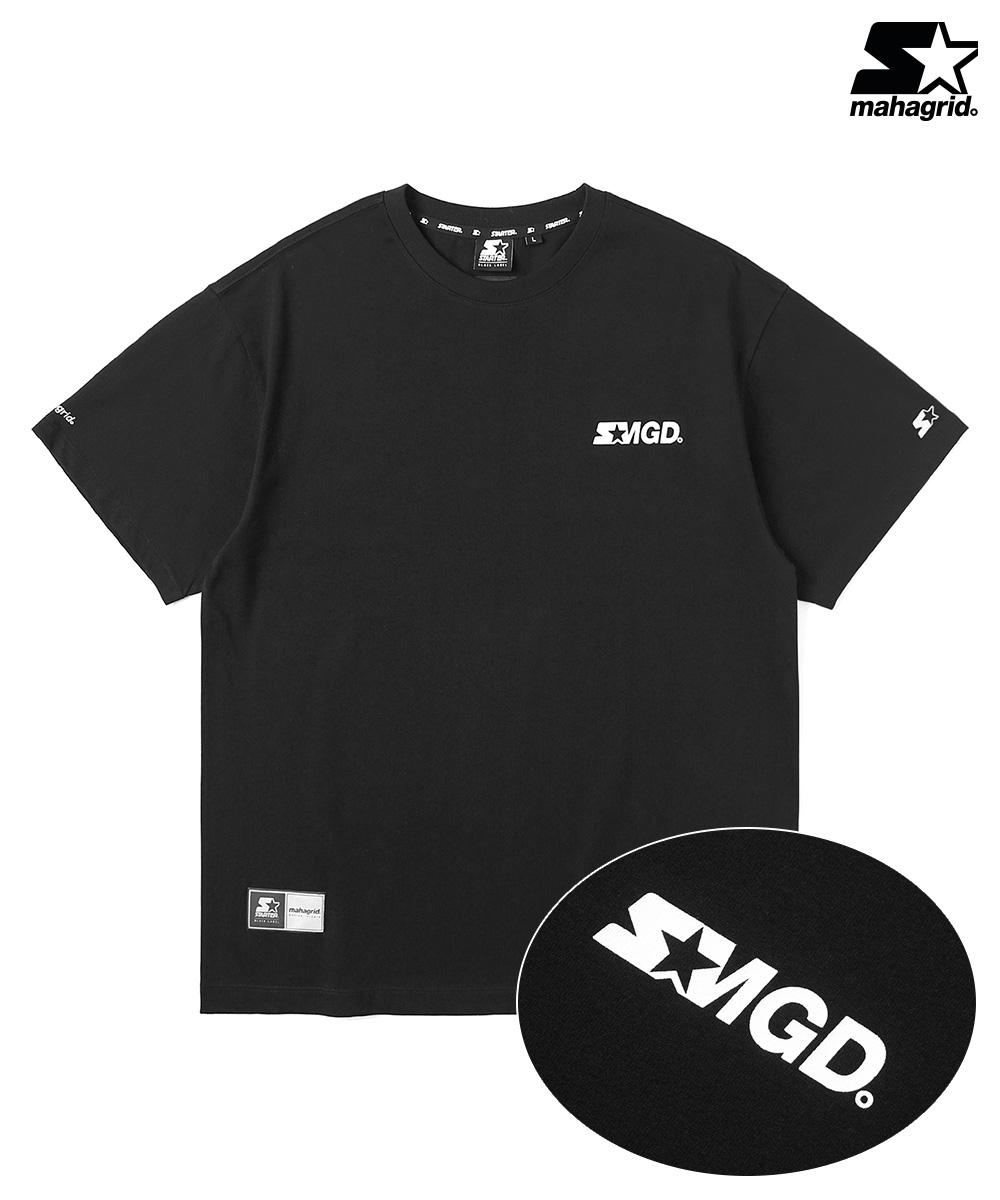 STR X MGD REF LOGO TS[BLACK]
