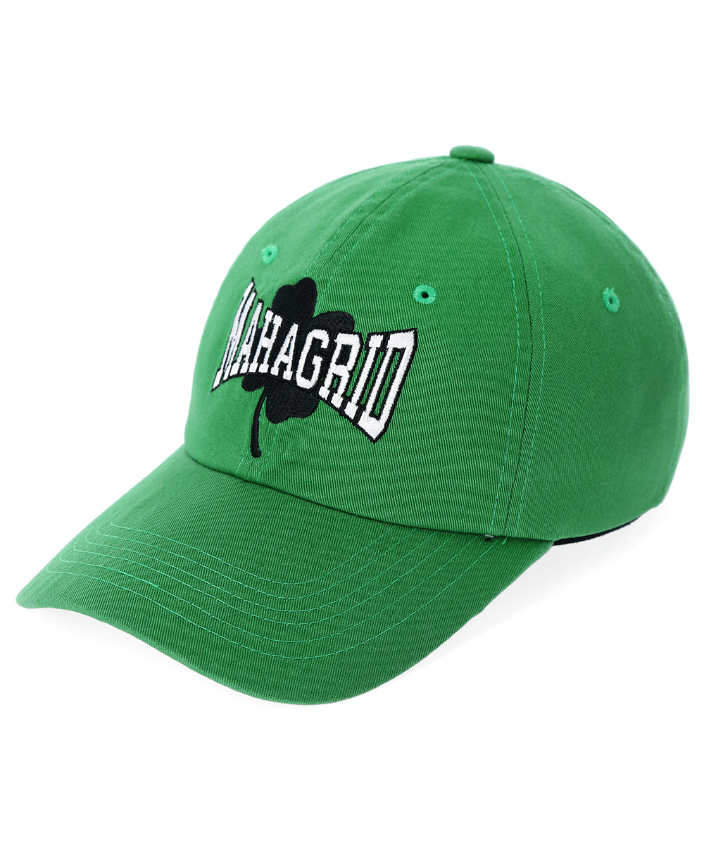 WASHED CLOVER CAP[GREEN]