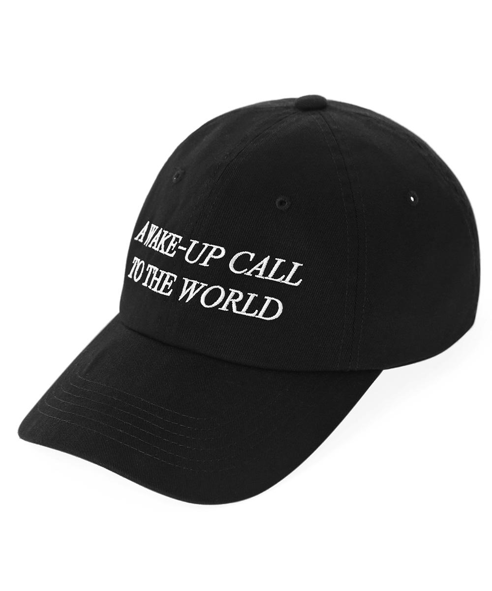 WASHED W.U.C CAP[BLACK]