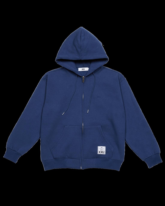 JNSS Zipup-hoodie Navy (FW Version 기모)
