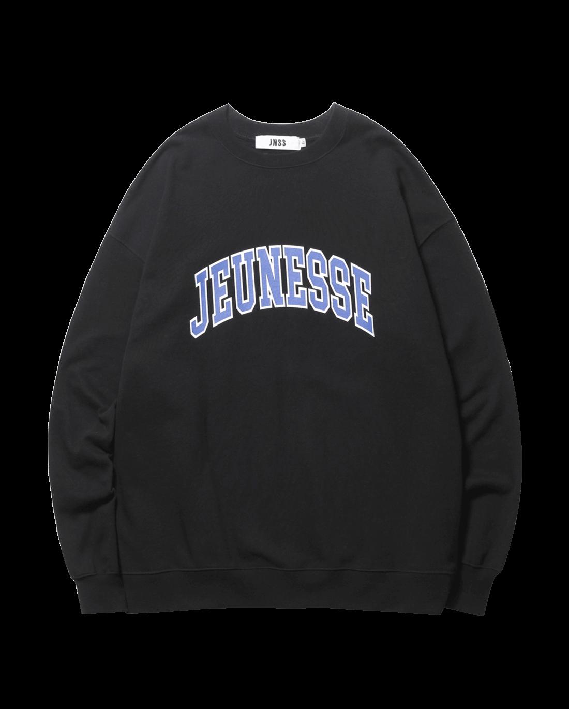 Signature Logo Sweatshirts Black (SS 쭈리)