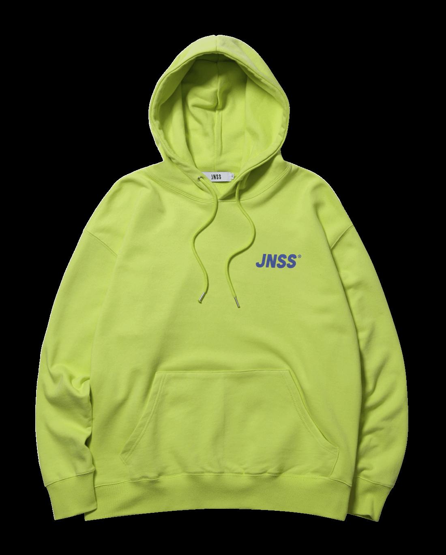 JNSS Logo Hoodie Lime (SS 쭈리)