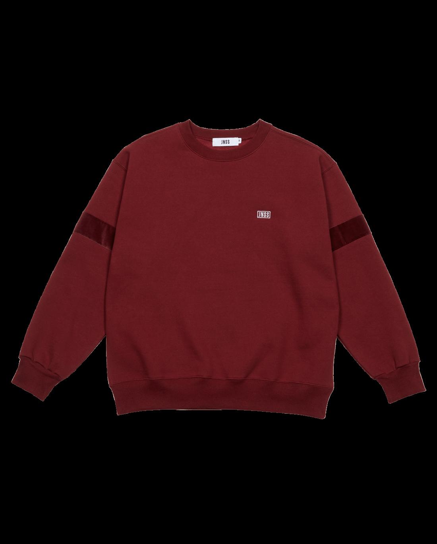 Velour Sweatshirt Wine (FW Version 기모)