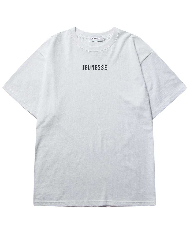 JEUNESSE Front Logo S/S Tee White