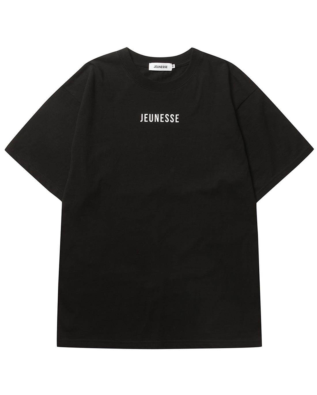 JEUNESSE Front Logo S/S Tee Black