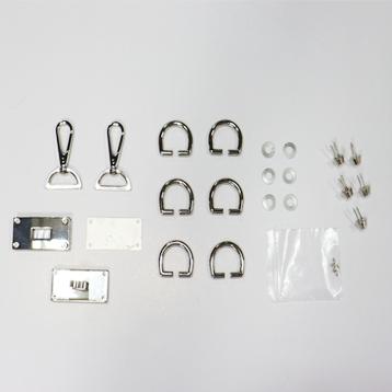 장식세트 - 툴박스 st. 잠금장식 SET (골드/니켈)