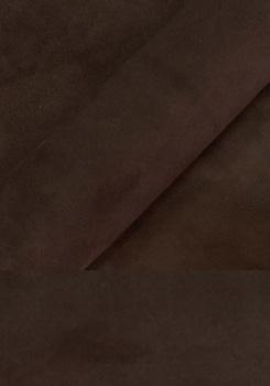염소가죽 - 스웨이드 (레드브라운)