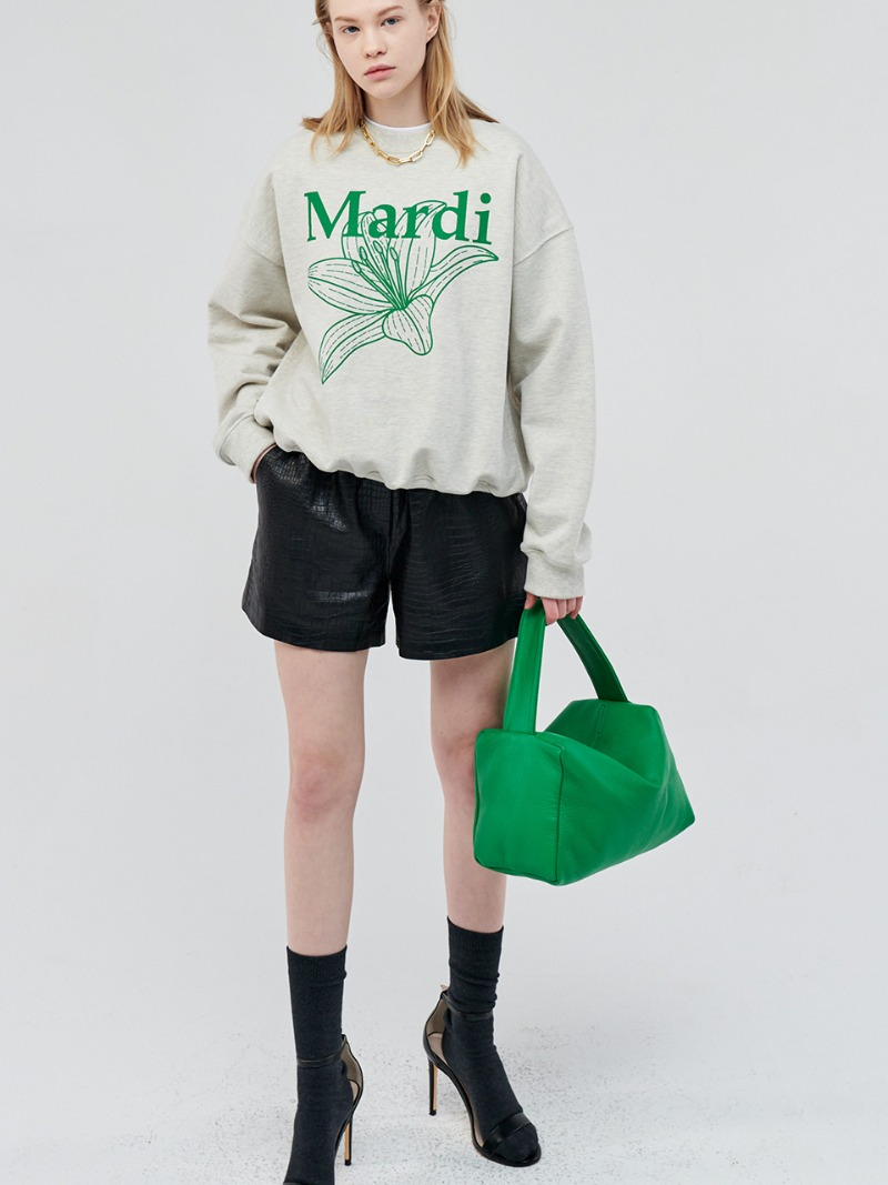 PETIT GREEN [ALL LEATHER]