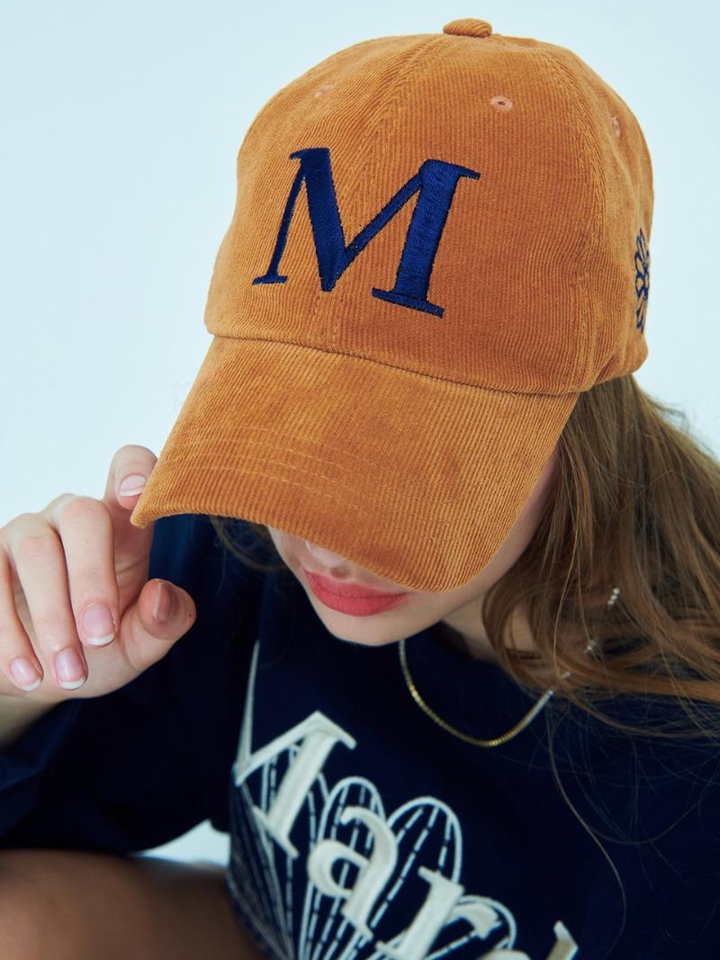 [10/4 예약 순차배송] CORDUROY CAP M CAMEL