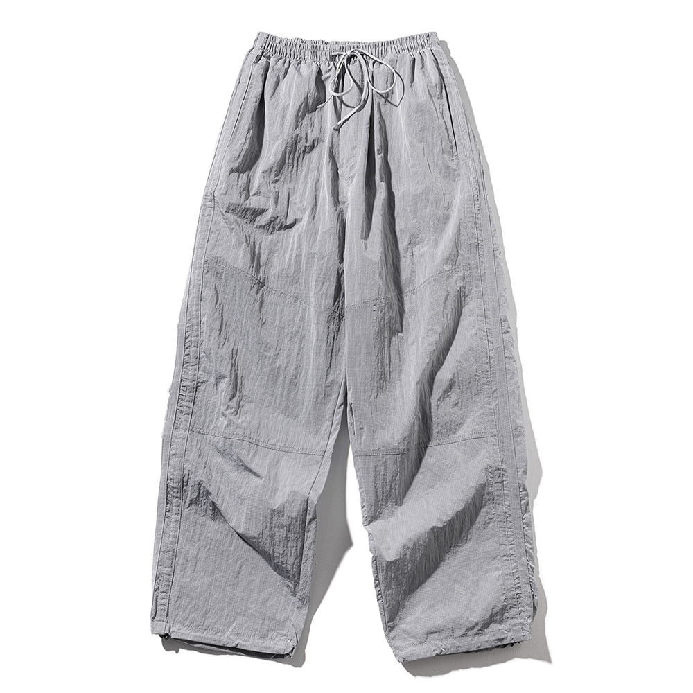 BALLOON FIT CHROME PANTS MSOTP003-GY
