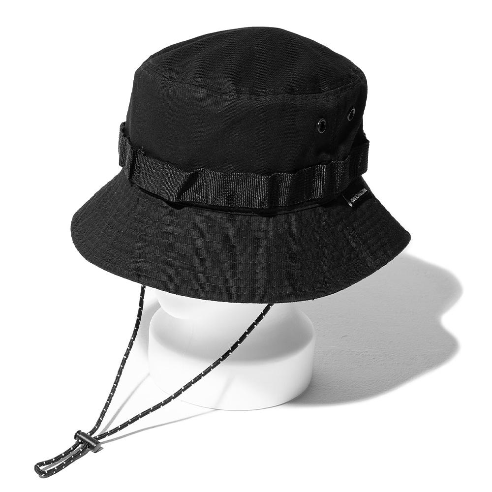 CARTRIDGE BUCKET HAT MSOAC001-BK