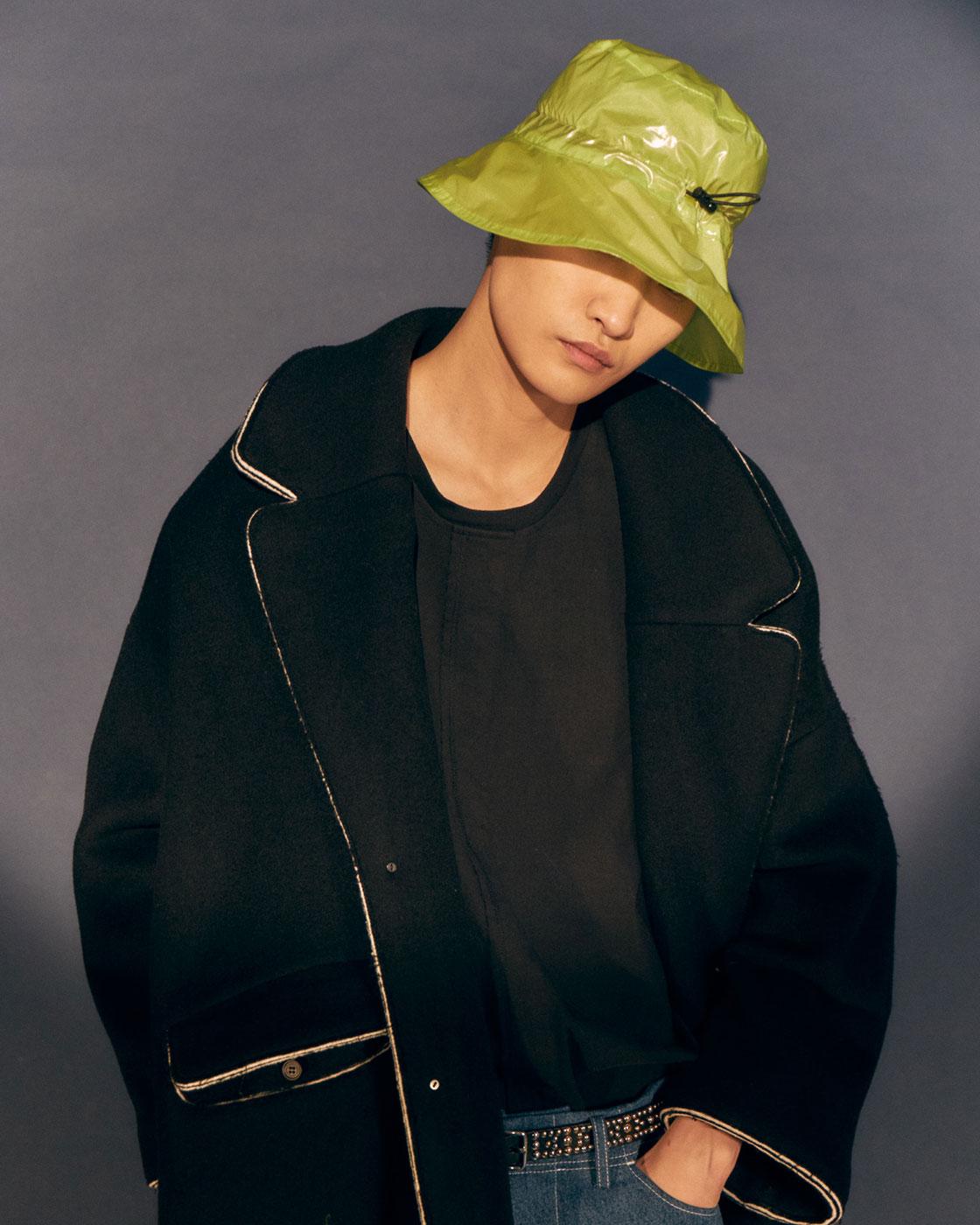 Laminated Cutout Bucket Hat
