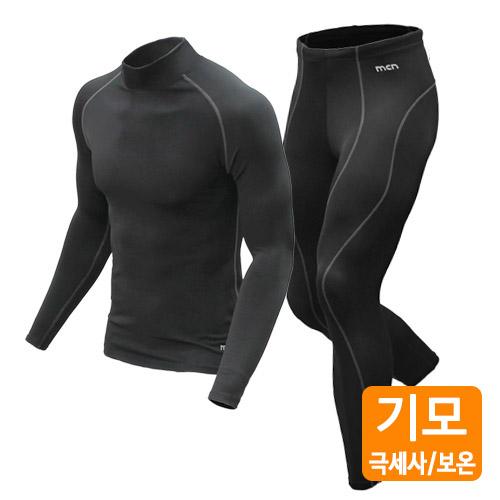 [MTW-010+MPW-010][겨울기모] 따뜻한 기모안감 오버히트 기어-상하의 세트