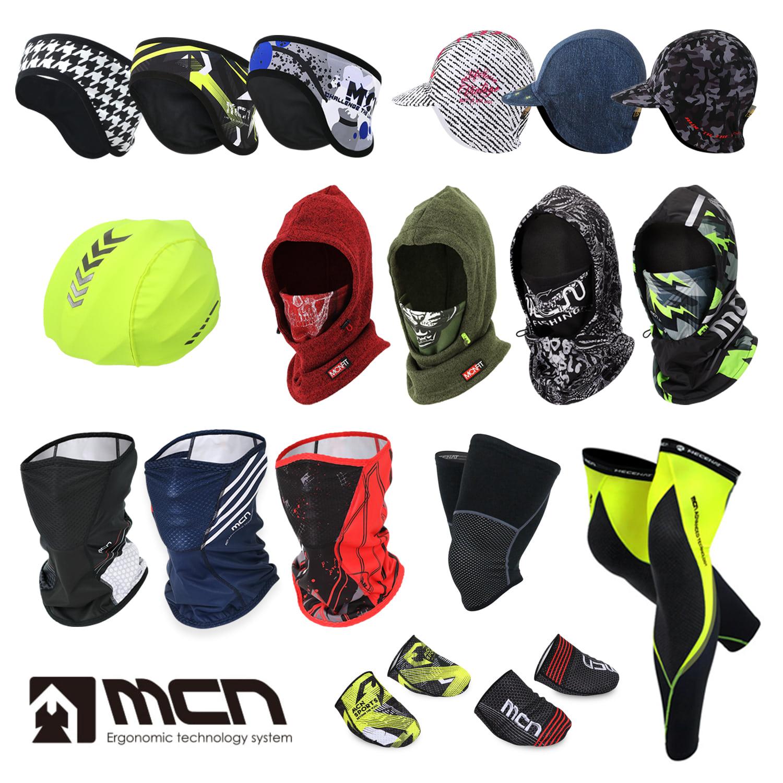[MCN-Warm series]MCN 겨울 인기 스포츠용품 모음전방한모자 귀마개 사이클링캡 기모마스크 방풍후드 각종 토시 등 겨울 스포츠에 유용한 아이템 모음전