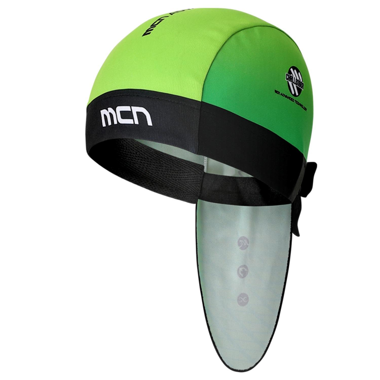 [MHBN-GREEN LANTERN]그린 랜턴 자전거 두건헬멧 안에 착용하는 사이클링 반다나조각모 쪽모자 속모자 스컬캡 라이딩모자