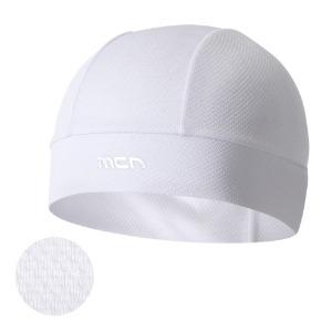 [SKULL CAP(Cool Effect) WHITE]화이트 쿨 이펙트 웻스컬캡물에 적셔 사용하는 습식 쿨링 스컬캡헬멧 속에 착용하는 쪽모자 조각모 비니