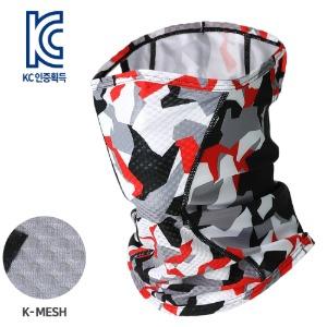 [MASK SR1-SWEDISH CAMO]통기성 좋은 기능성 K-메쉬 마스크, 스웨디시 카모벌레와 자외선으로 부터 얼굴을 보호하는자전거/등산/낚시/레저 등 스포츠마스크