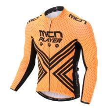 [CJL-ORANGE FLEX]춘/추용 오렌지 플렉스 긴팔 져지봄~가을까지 입기좋은 기능성 저지자전거의류, 라이딩상의, 사이클져지