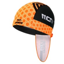 [MHBN-ORANGE FLEX]오렌지 플렉스 자전거 두건헬멧 안에 착용하는 사이클링 반다나조각모, 쪽모자, 속모자, 스컬캡, 라이딩모자