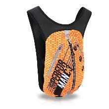 [MCN FIT BAG-ORANGE FLEX]오렌지 플렉스, 남녀공용 사계절 자전거 백팩용량3L, 초경량, 생활방수스포츠가방, 사이클배낭 등 아웃도어용