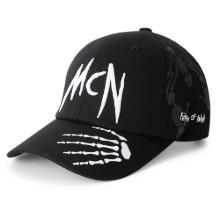 [MBCAP-NECRONOMICA]네크로노미카 블랙 볼캡 모자남녀공용, 스포츠 야구모자, 아웃도어 레저캡, 챙긴 스트릿 패션모자
