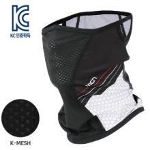 [MASK SR1-NORMAL CRUSH]통기성 좋은 기능성 K-메쉬 마스크, 노멀 크러쉬벌레와 자외선으로 부터 얼굴을 보호하는자전거/등산/낚시/레저 등 스포츠마스크