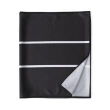 [COOL TOWEL(Wet Rhino) MONO BLACK]쿨타올 웻라이노 모노 블랙물에 적셔 사용하는 습식 스포츠 타올여름 로라 등산 골프 러닝 헬스장 수건