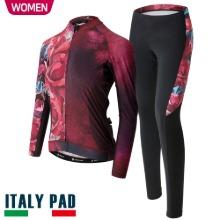 사은품 증정 이벤트[FLORIS PERFUME SET-WOMEN]플로리스 퍼퓸 세트춘/추용 여성 긴팔져지+9부 패드바지자전거의류, 자전거복, 사이클웨어, 라이딩복장