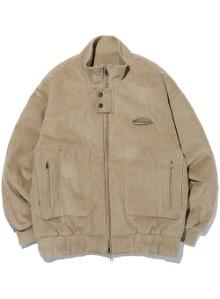 Corduroy two-way jacket [beige]