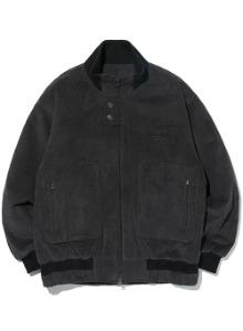 Corduroy two-way jacket [charcoal]