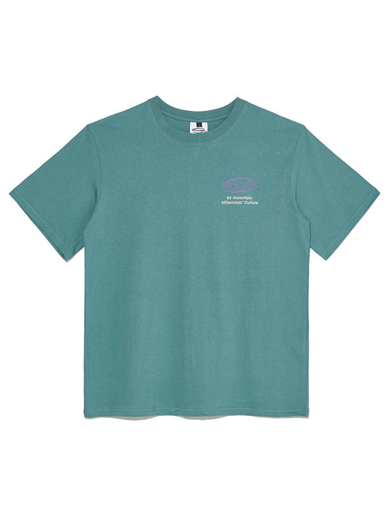 OG Line Vintage T-shirt [green]
