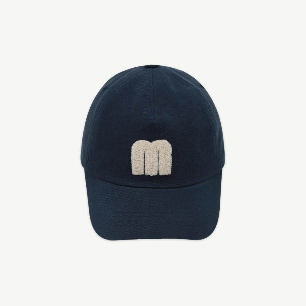 M logo cap - navy ( 4차 입고,당일 발송)