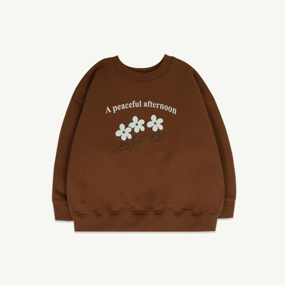 Afternoon sweatshirt (2차 입고, 당일 발송)