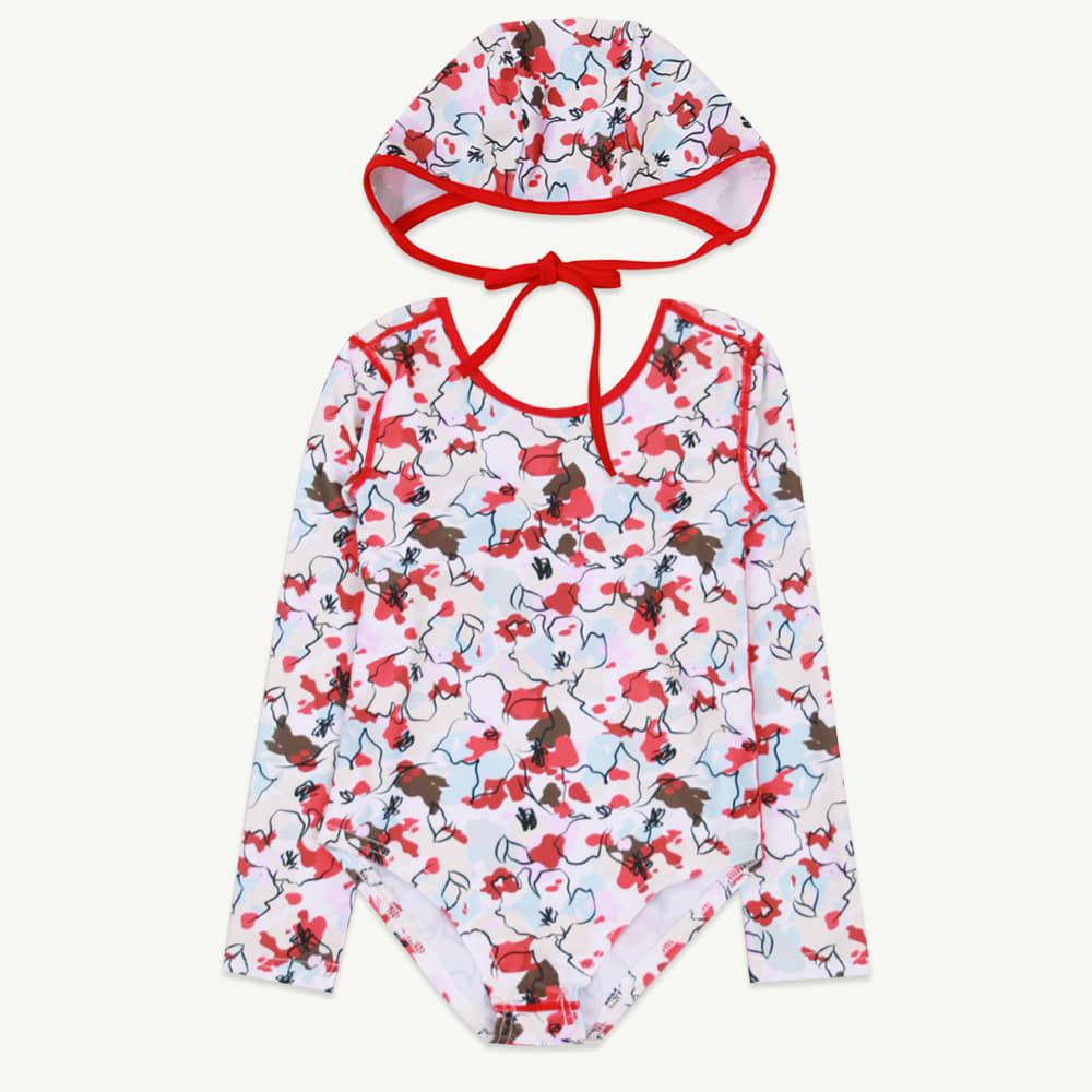 Flower swim suit