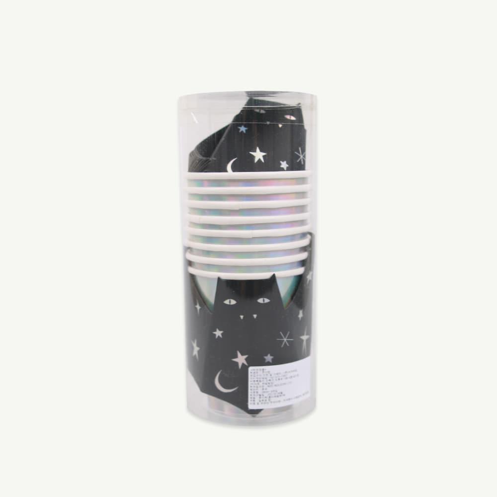 [MeriMeri] Sparkle bat cups (8pcs,당일발송)