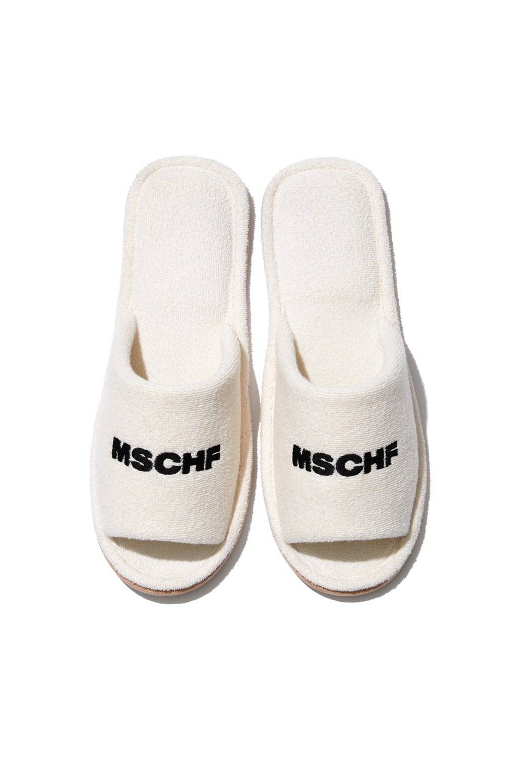 COLLECTIVE OG TOWEL SLIPPERS_cream