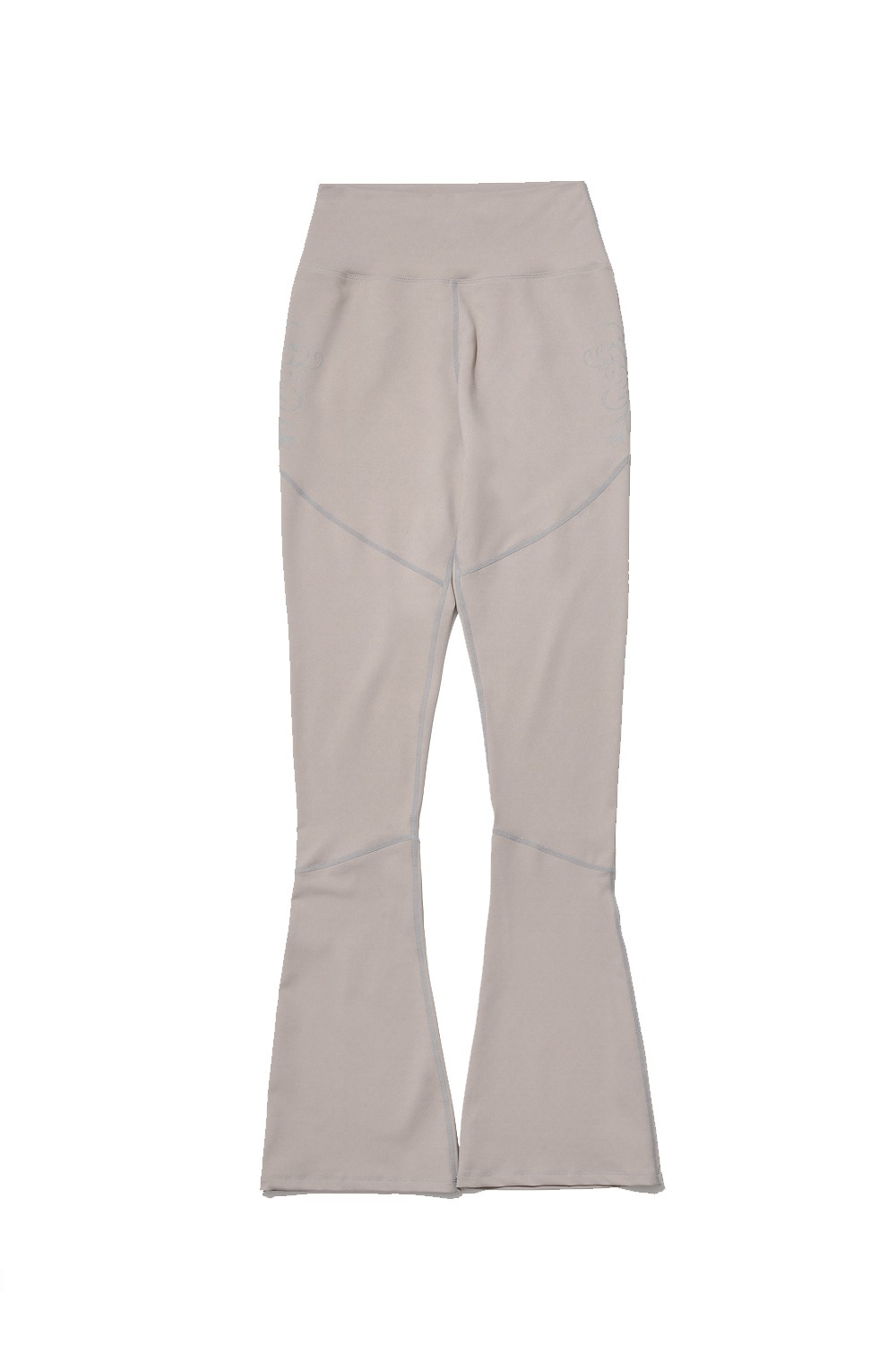 PROJECT MAGO_ORCHID FLARED LEGGINGS_BEIGE