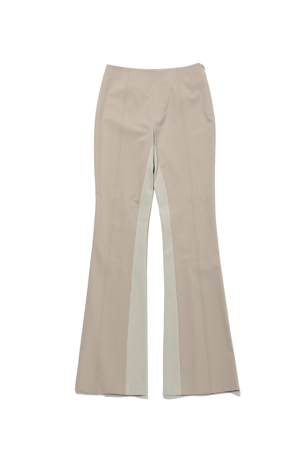 2021 CALL OUT_PANELED FLARE PANTS_CREAM