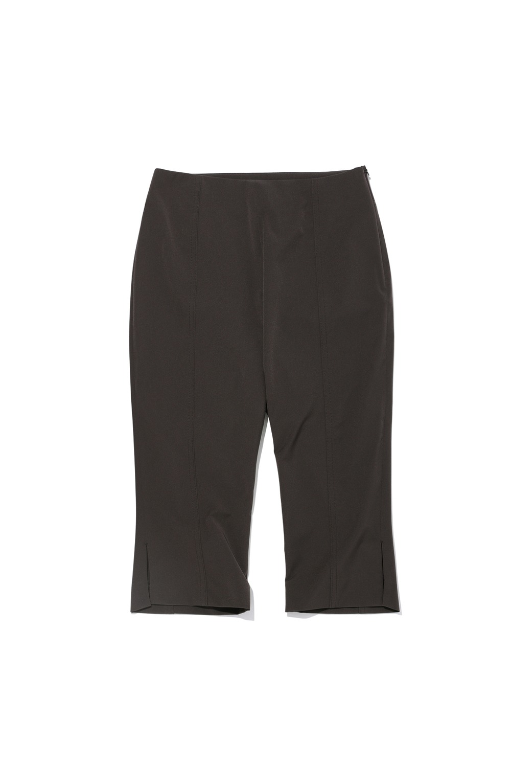 2021 CALL OUT_HIGH-RISE TAILORED BIKE SHORTS_CHARCOAL