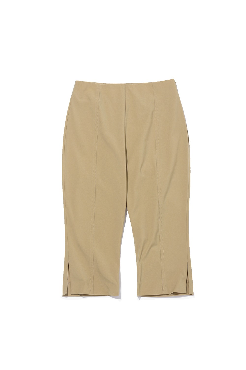 2021 CALL OUT_HIGH-RISE TAILORED BIKE SHORTS_BEIGE