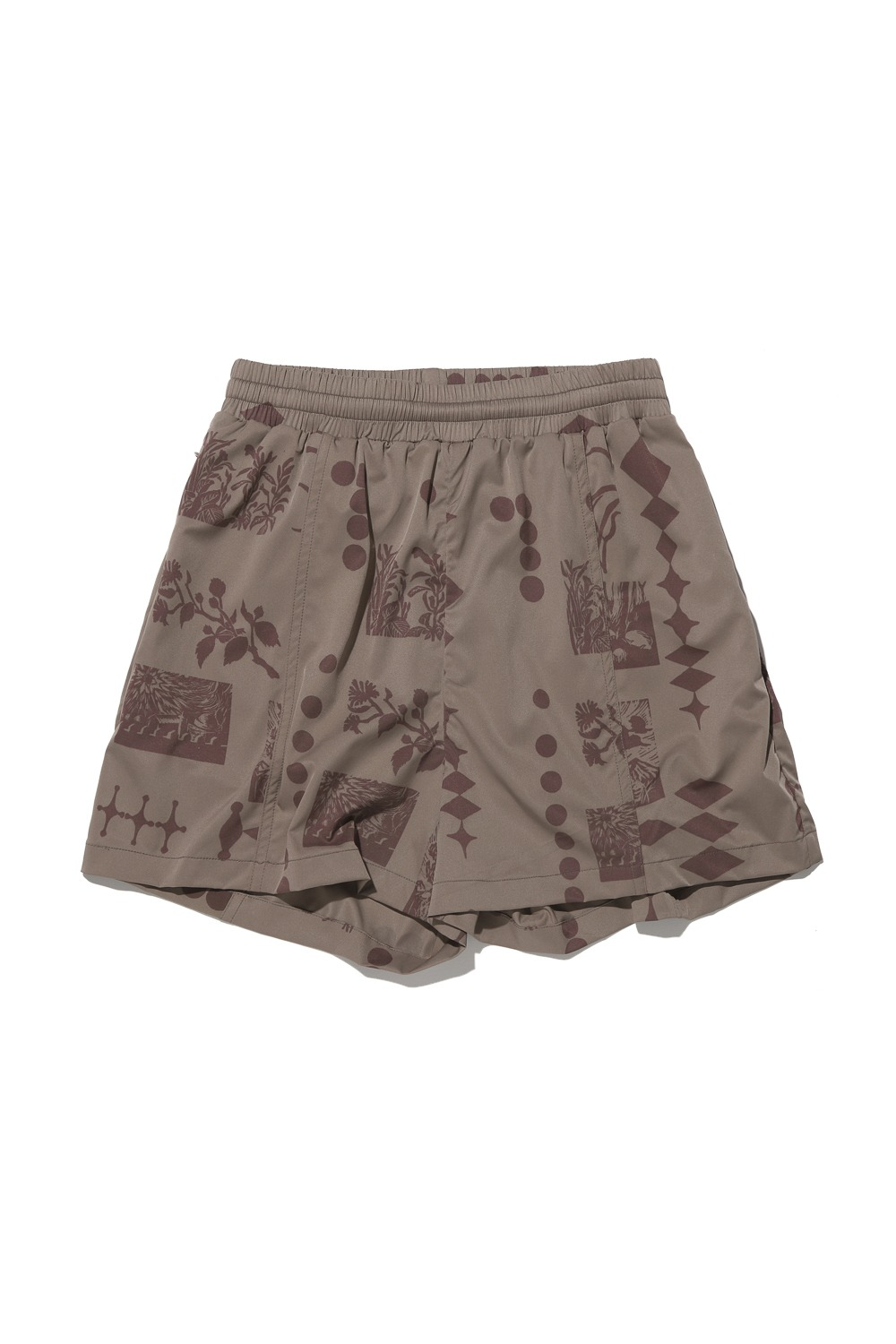 2021 CALL OUT_NAMSAN EDITION WINDRUNNER SHORTS_COCOA