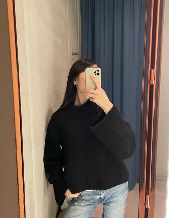 카이트 더 리마 스웨터 / 블랙