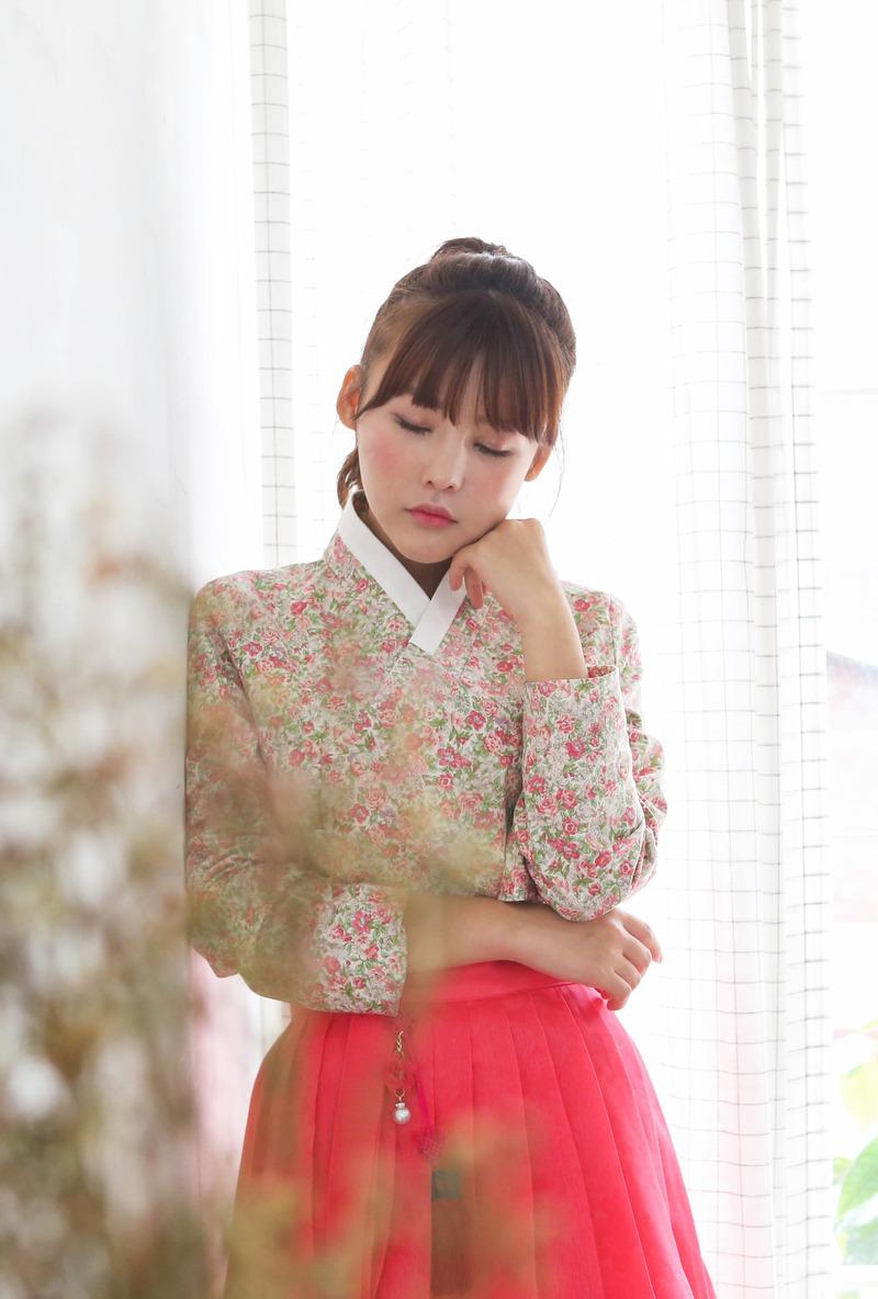 콩저고리     분홍꽃말 C1F02D058