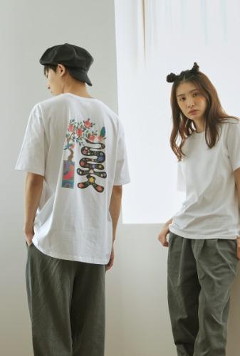 티셔츠 | 문자도 롯 T1J09B007