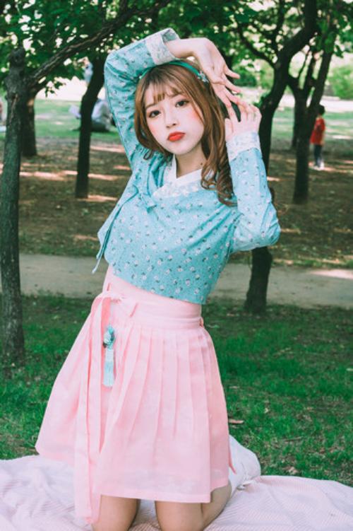생활한복 저고리 | 소녀시대 블루 C1G02D029