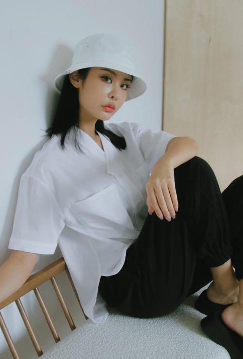 한복 셔츠 | 광화문 흰색 T1J03B065