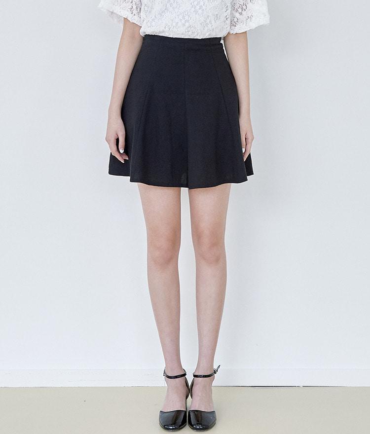 ROMANTIC MUSEFlared Mini Skirt